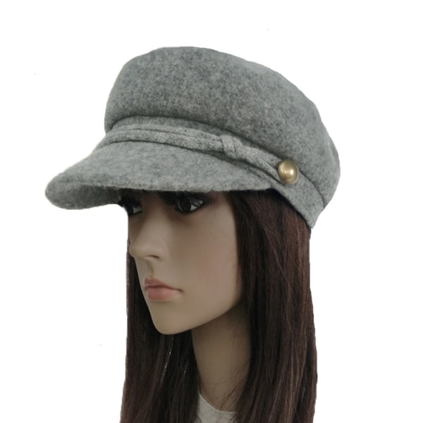 Wholesale Felted Wool Winter Cap for Women
