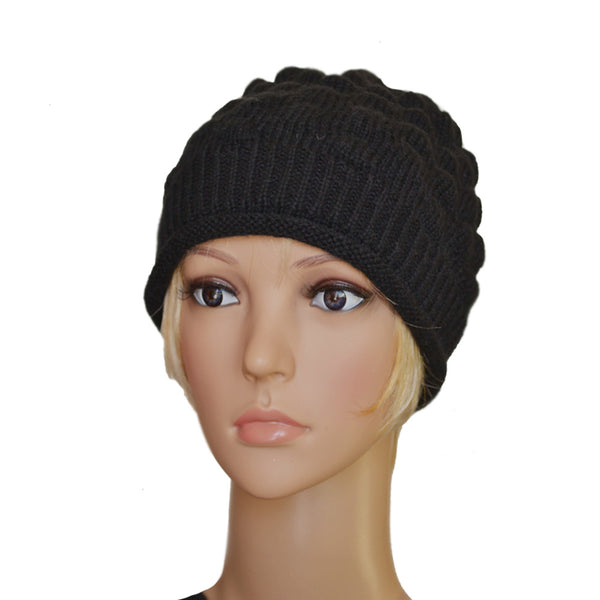 e0ea4bd5b34 Wholesale Wool Small Skull Beanie - Women s Knit Winter Warm Hat Cap ...