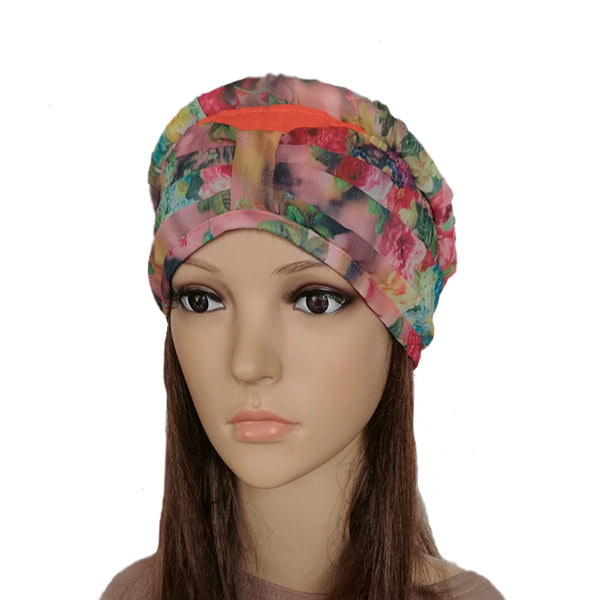Summer Women's Bandana  Linen  Turban Hat