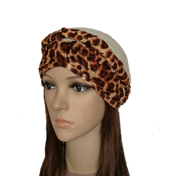 Leopard Print Bandana for Lady