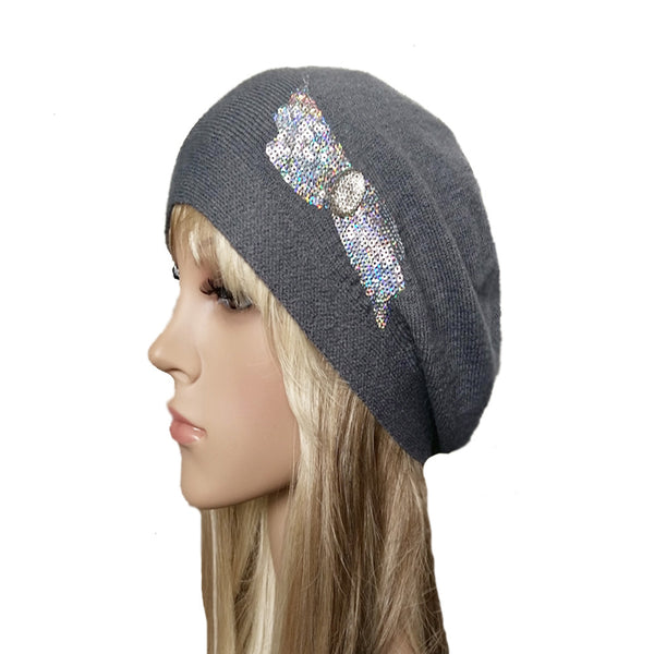 cc3fc510e4a47 Wholesale Slouchy Beanie for Women - Women s Knit Slouch Beret in ...