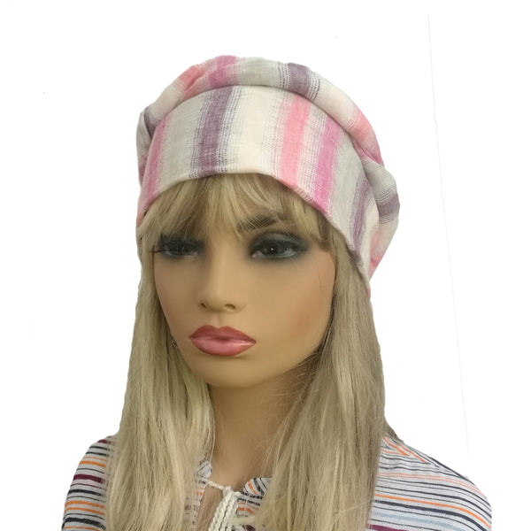 Wholesale Linen Women's Turban  Summer Head Wear