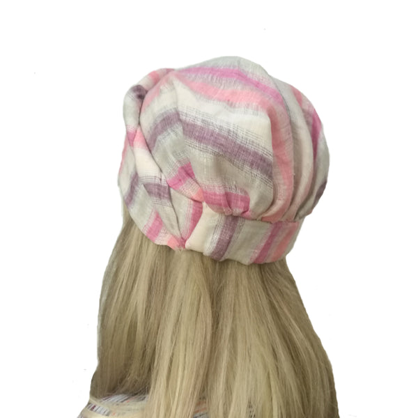 Wholesale Linen Women's Turban  Summer Beanie