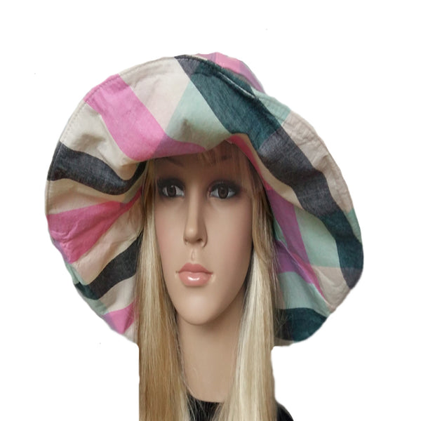 Wide brim bohemian hat for women