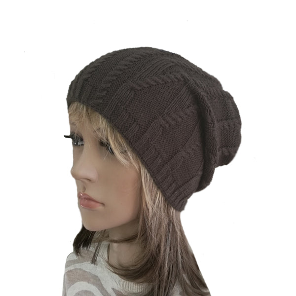 Wholesale Knitted Wool Beanie for Women Winter Fall Knit Hat