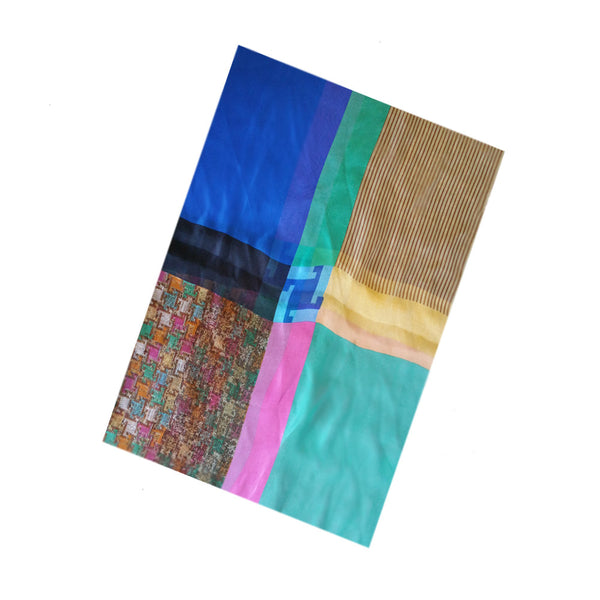 Colorful Women's Silky Scarf