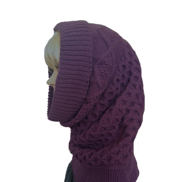 Knitted Snood Cowl Scarf for winter