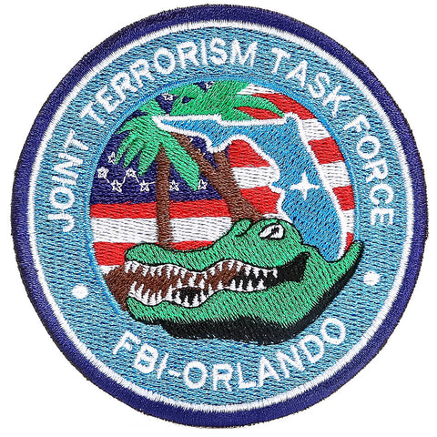 USA Secret Service and FBI Counter Terrorism Patches