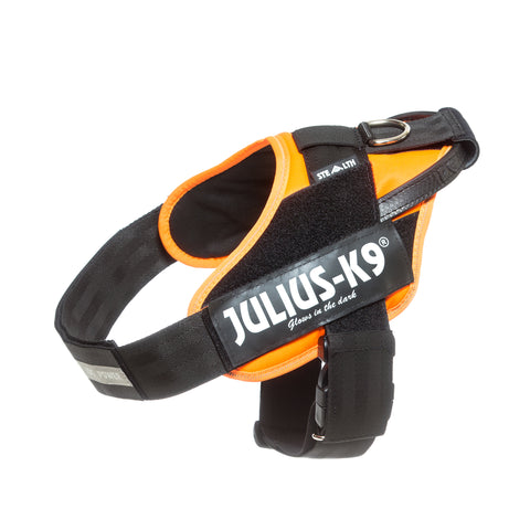 Julius K-9 -  Stealth Harness - UV Orange - Pet Bound Co.