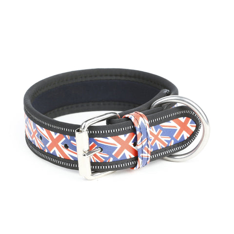 Julius K-9 Collar - Union Jack - Pet Bound Co.
