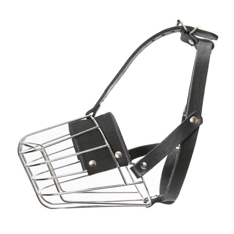 Julius K-9 Metal Basket Dog Muzzle - Pet Bound Co.