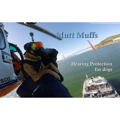 Mutt Muffs - Hearing K9 Protection - Pet Bound Co.
