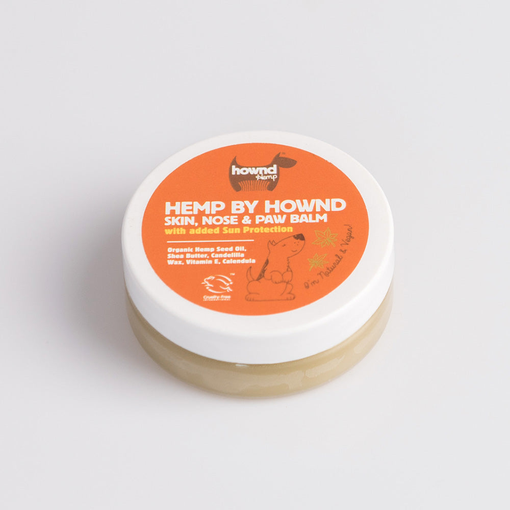 Hemp by Hownd - Nose & Paw Balm with Added Sun Protection - Pet Bound Co.