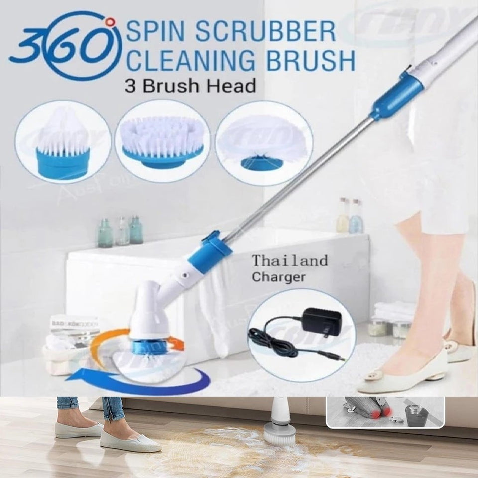 Magical Mop - CLEANER, SPINNER & SCRUBBER