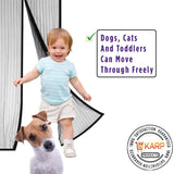 Ultimate Mosquito Mesh (100 cm Width X 210 cm Height, Black)