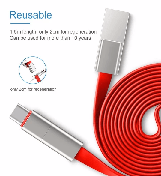 Reusable Charging Cable