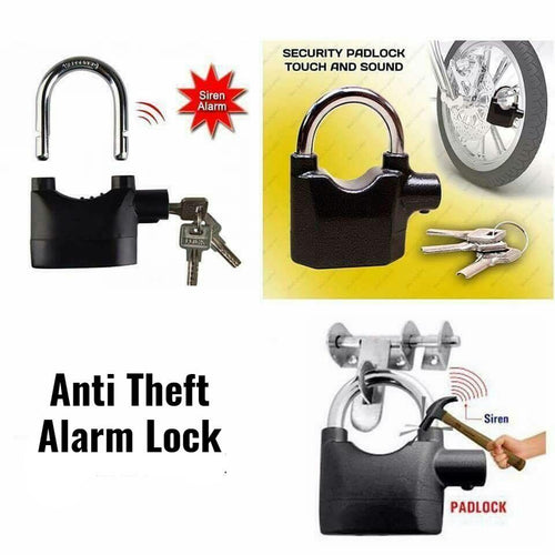 ANTI THEFT SIREN ALARM LOCK