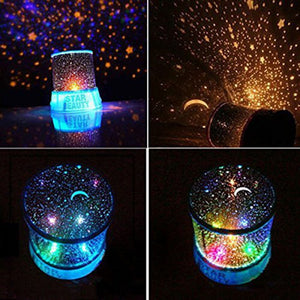 Led Starry Projection Lamp