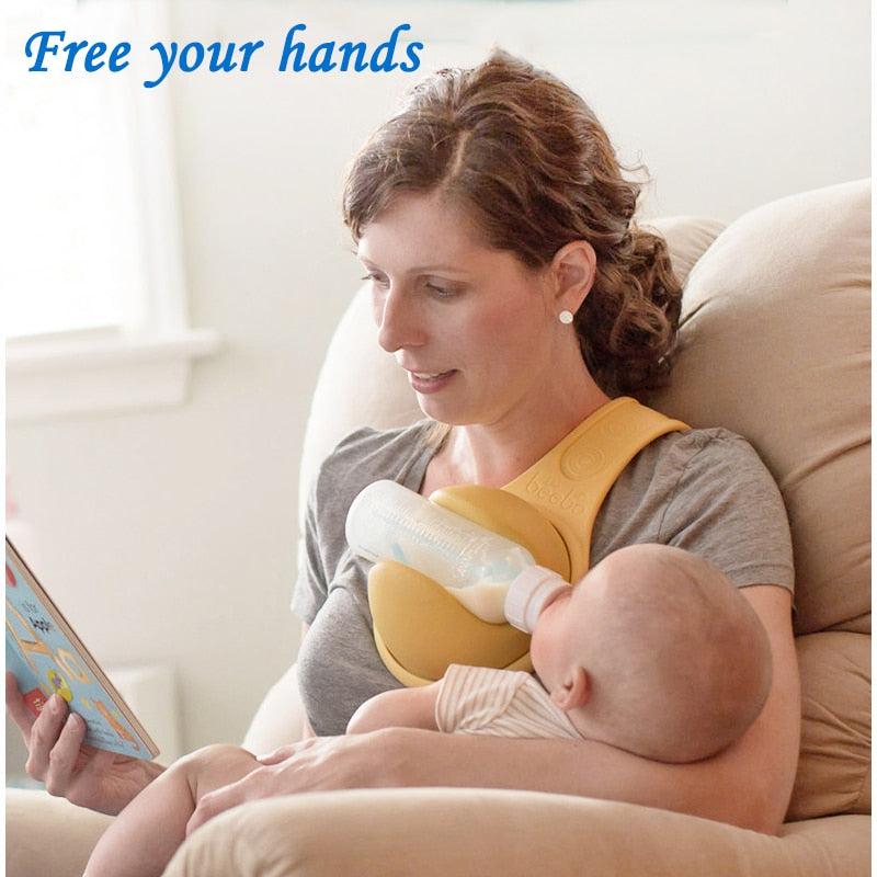 Hand Free Baby Bottle Holder