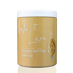 Honey & Sea Salt Peanut Butter 1kg