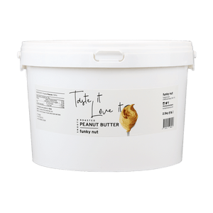 Natural Peanut Butter 2.5kg | Funky Nut