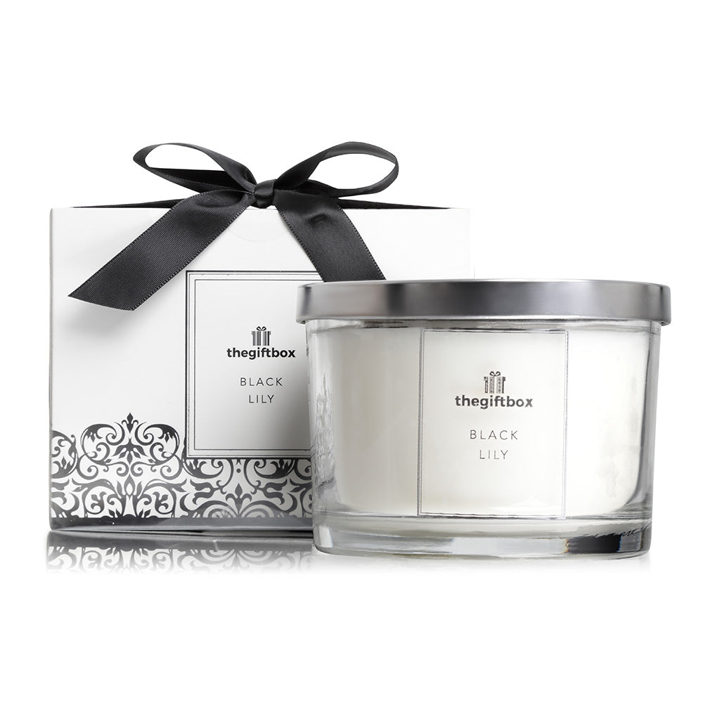 Black Lily - Luxury Large Candle