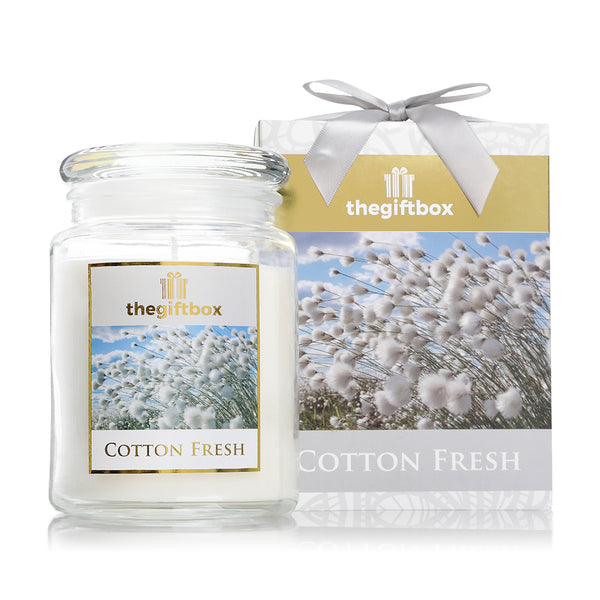 Cotton Fresh  -  Large Scented Candle