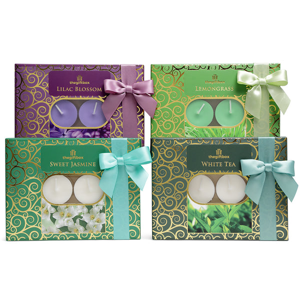 Luxury Relax Candle Gift Set (4 x 12)