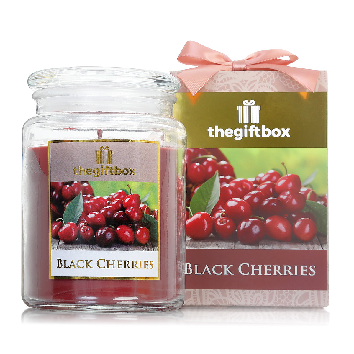 Black Cherries - Large Candle