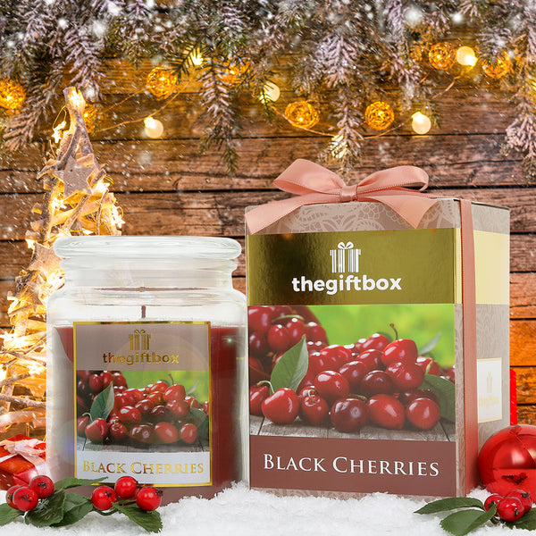 Black Cherries - Large Candle Jar