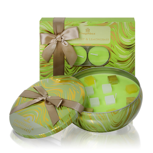 Grapefruit and Lemongrass Single Tin Gifts