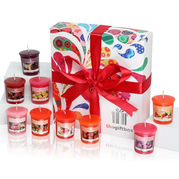 Sunmist - 9 Beautiful Scented Votive Wax Candles