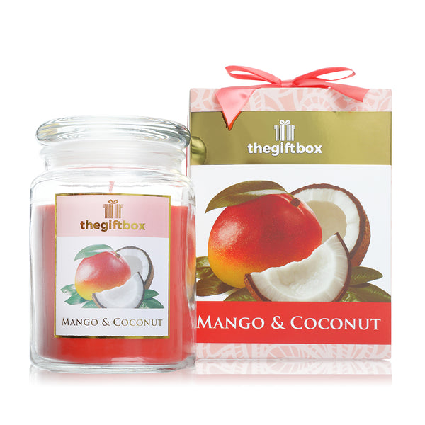 Mango and Coconut Large Candle