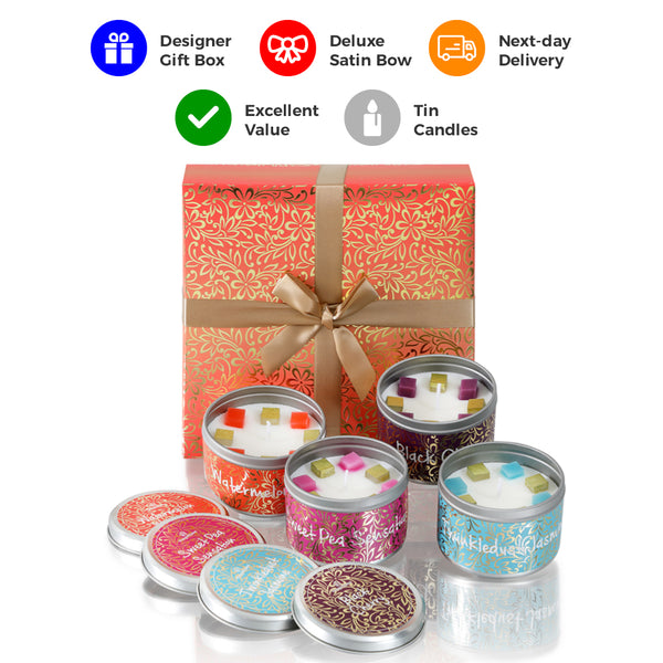 Sparkledust 4 Tin Candles