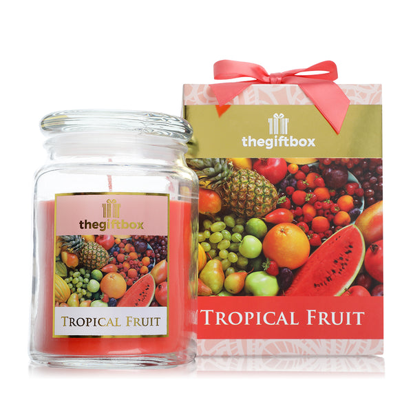 Tropical Fruit  Large Candle