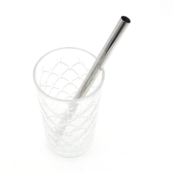 Metalen rietje - 12mm breed voor o.a. smoothies en shakes - RietjesFabriek