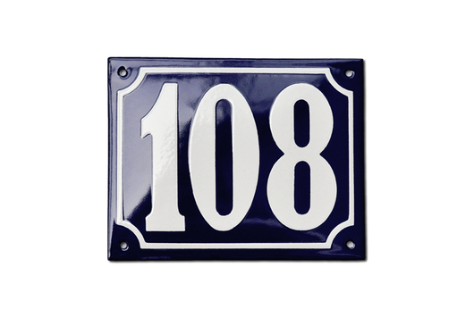 In Stock House Numbers 100-200