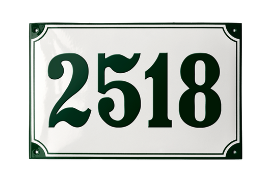 VOSBORG HOUSE NUMBER
