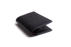 Credit card wallet Black Calf
