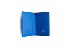 Credit card wallet Blue Lizard