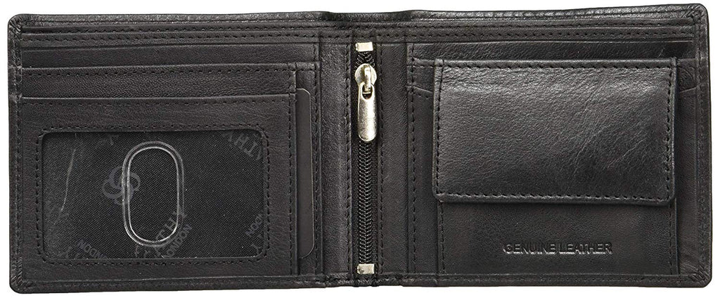 Cathy London Limited Edition RFID Men's Wallet 2 Card Slots with Coin Pocket
