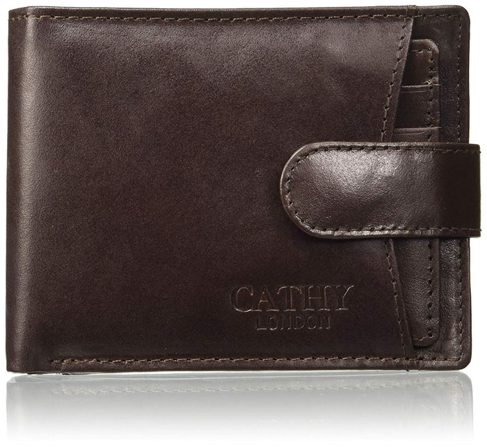 Cathy London Limited Edition RFID Men's Wallet 10 Card Slots