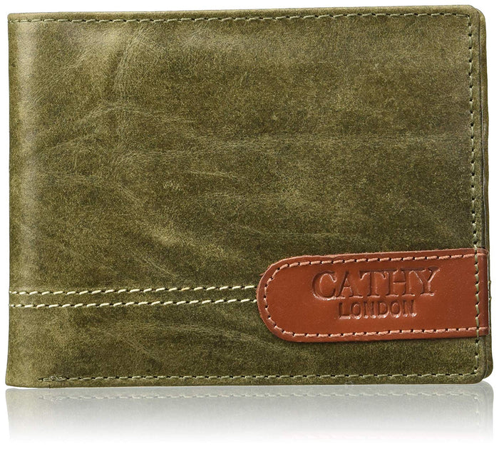 Cathy London Limited Edition RFID Men's Wallet 6 Card Slots