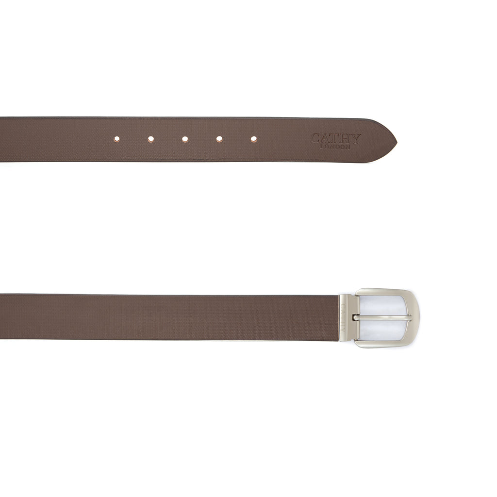 Cathy London Cut-to-Size  Genuine Leather Belt