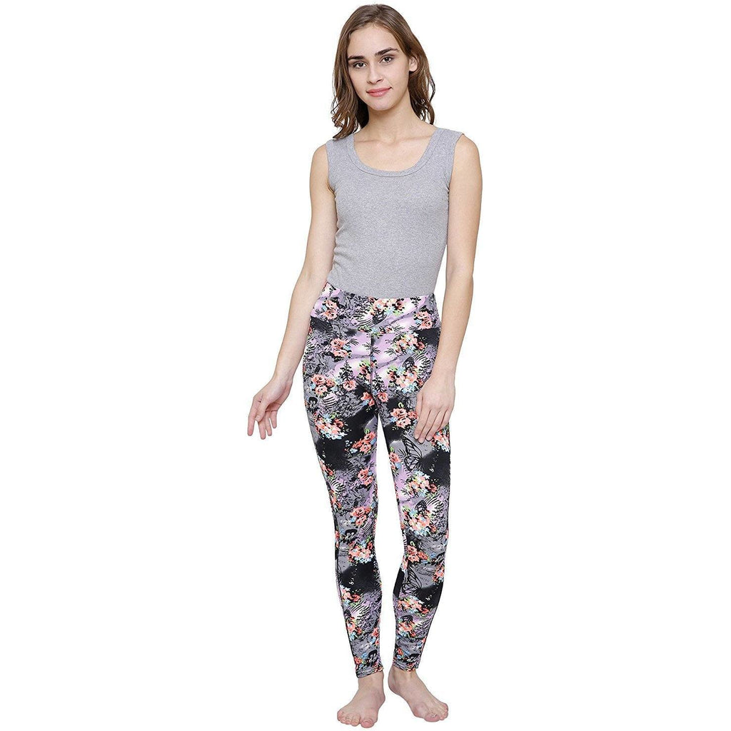 Cathy London Women's  Printed Stretchable Sports Yoga Track Pant Gym  legging
