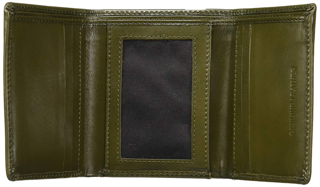 Cathy London RFID Men's Wallet 4 cc with coin pocket