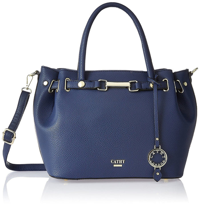 CATHY LONDON HAND BAG BLUE