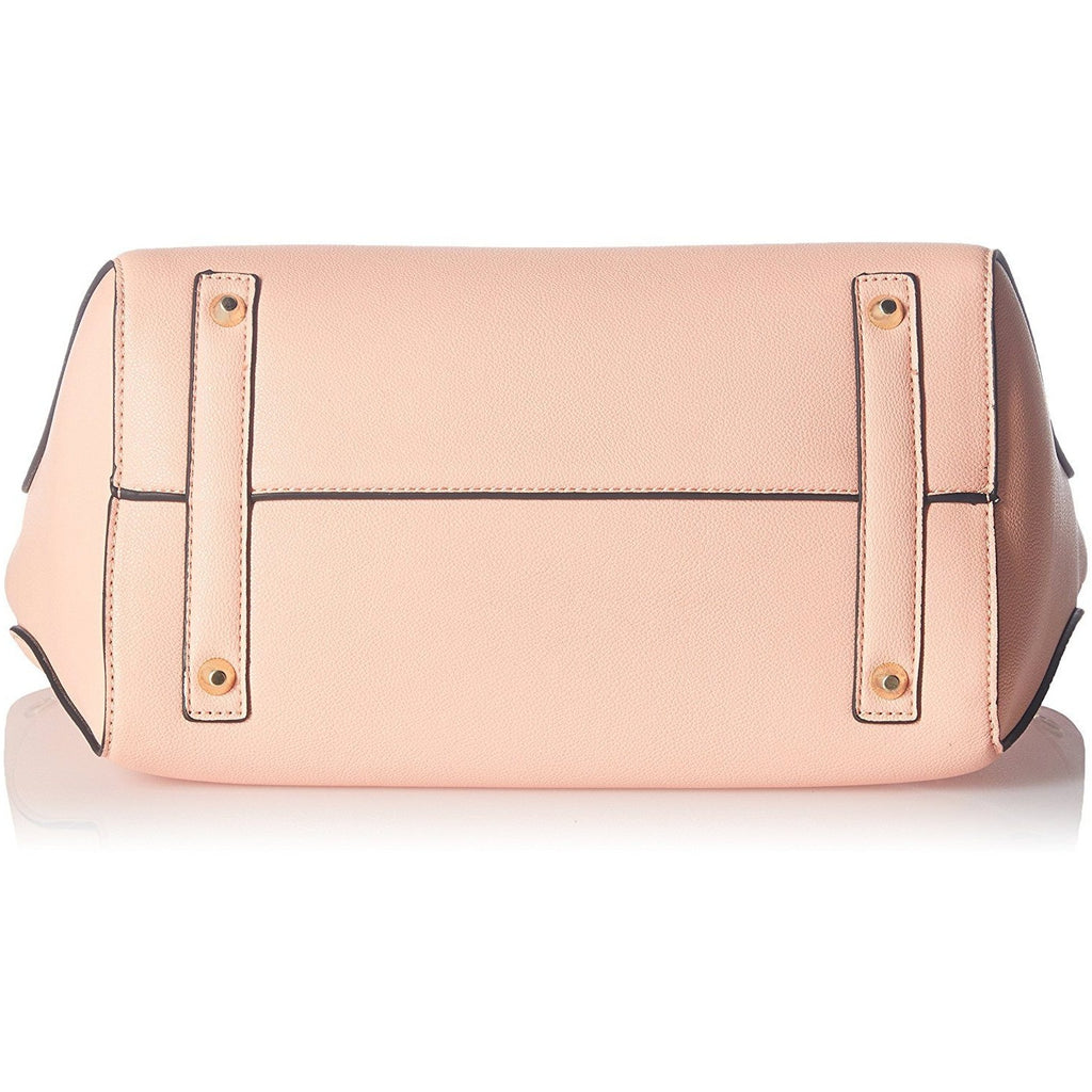 Cathy London Women's Handbag, Material- Synthethic Leather, Colour- Peach