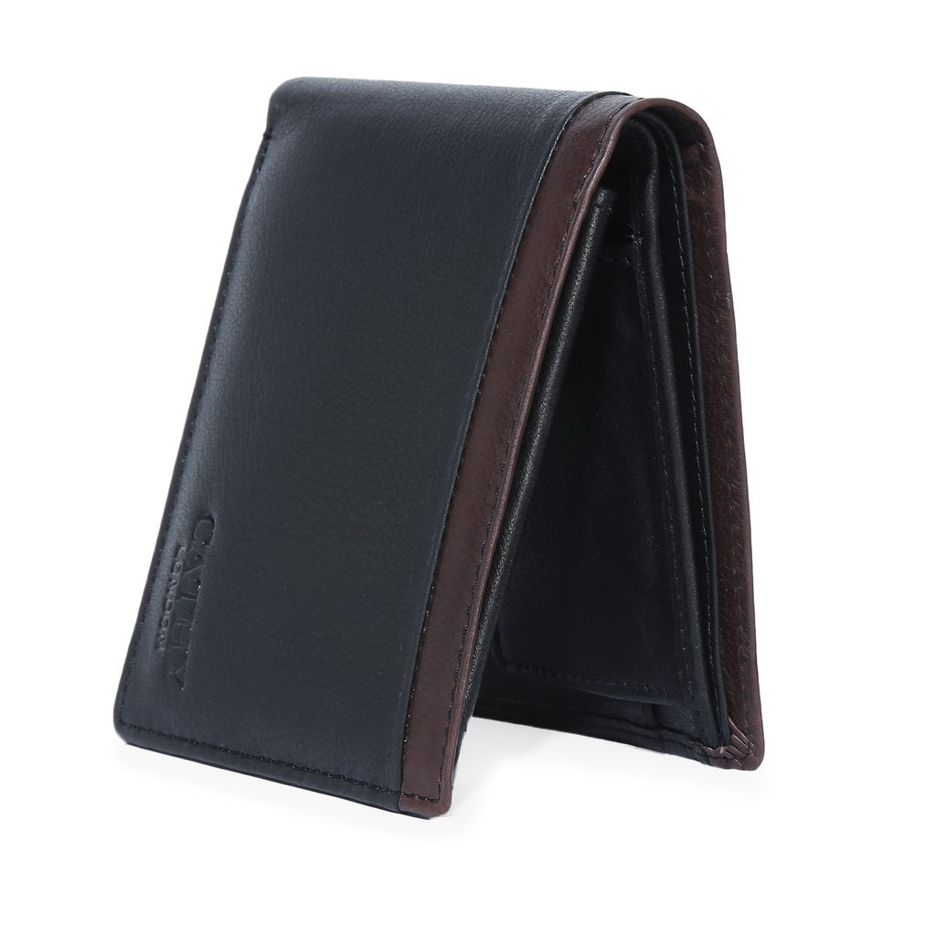 Cathy London  Men's Wallet With Reversible Belt Combo Pack ( GIFT BOX INCLUDED )