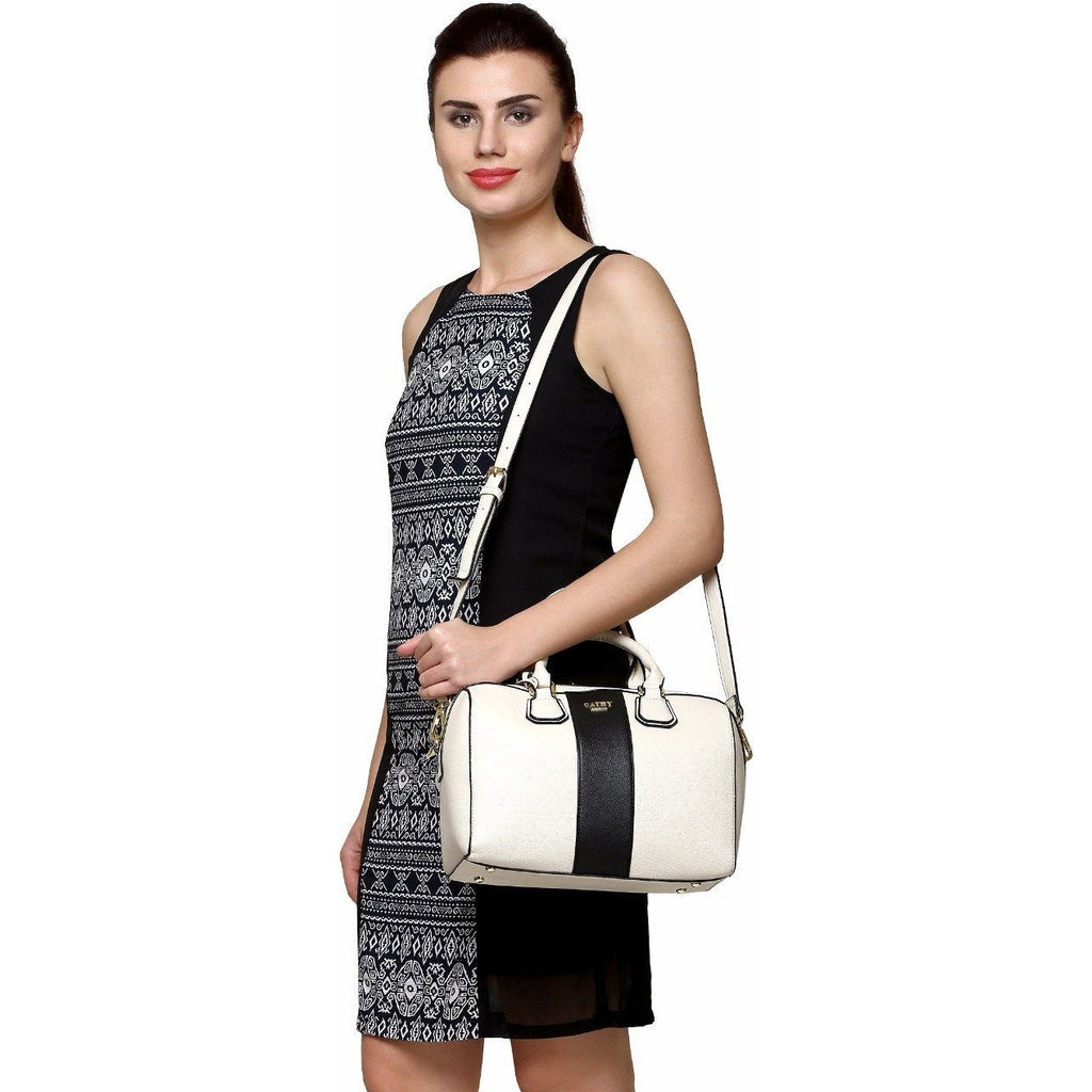 Cathy London Women's Barrel Bag